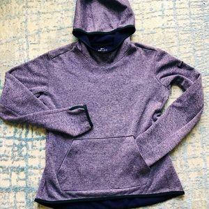Nike purple dri-fit hoodie sweatshirt size medium